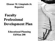 faculty and staff development