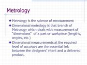 Metrology_Slides