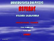 UNIVERSITATEA  DIN  PITESTI Radu Cunnect