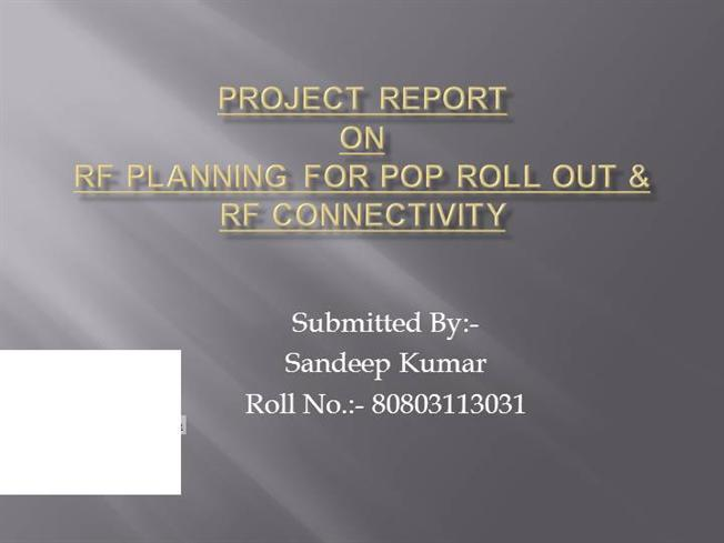 Sandeep Ppt Project Report AuthorSTREAM