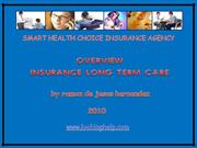 Overview Long Term Care