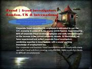 Fraud  Fraud investigators London, UK and  international  My Blackhawk