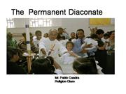 Catholic Series: The Diaconate