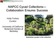 NAPCC - different paths to meeting your conservation goal- UCBG_NAPCC_