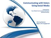 Communicating With Social Media