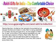 Rakhi Gifts for India – The Comfortable Choice