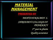 material management hiral