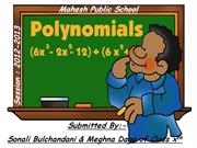 polynomials