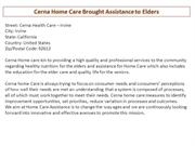 Cerna Home Care Brought Assistance to Elders