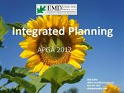 Rick-APGA 2012 Integrated Planning (rev 2)