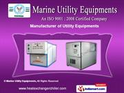 Industrial Utility Equipments by Marine Utility Equipments, Mohali