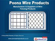 Wire Mesh Fencing by Poona Wire Products, Pune