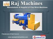 Brick Machines by Raj Machines, Surat