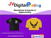 T-Shirt Printing by J V Digital Textile Printing, New Delhi