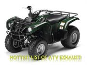 Hottest List of ATV Exhaust