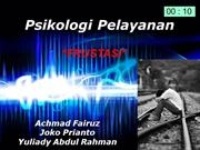 Psikologi Pelayanan ( Frustasi)