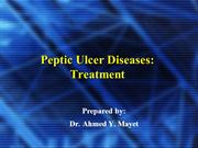 peptic ulcer-dr. mayet