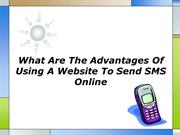 What Are The Advantages Of Using A Website To Send SMS Online