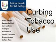 Curbing tobacco use