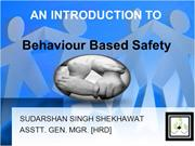Sudarshan Singh Shekhawat -AGM HRD- Behaviour Based Safety -21-06-2012
