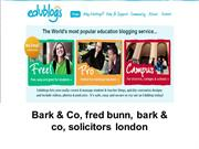 Bark & Co, fred bunn, bark & co, solicitors london