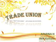 TRADE UNIONS