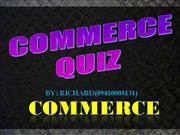 COMMERCIAL QUIZ NEW