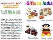 Ordering Online Gifts to India for Rakhi by Gujaratgifts.com