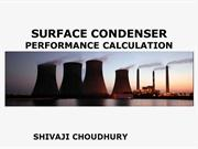 SURFACE CONDENSER PERFORMANCE CALCULATION