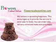 Buy Cake Online for your dear once and Send cake to India