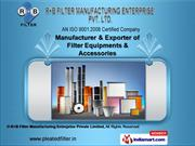 Industrial Filter Cartridges by R+B Filter Manufacturing Enterprise Pr