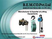 Lifting Accessories by B.E.M.CO.Pvt.Ltd (BAKELITE ELECTRICAL MFG. CO.