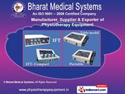 Physiotherapy Equipment by Bharat Medical Systems, Chennai