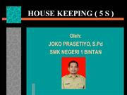 HOUSE KEEPING ( 5 S )