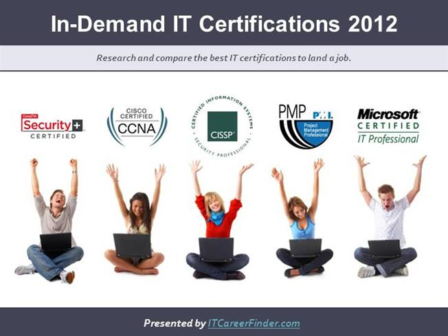 Computer Certifications In Demand 2012 Top It Certs To Get Hired