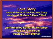 A song I dedicated to my God -  Love Story