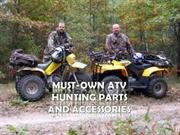 Must Own ATV Hunting Part and Accessories
