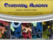 Comparing Numbers Mini