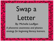 Strategy Toolkit - Swap a Letter Strategy (2)