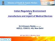 NIC -Regulatory by Dr. S. Eswara Reddy