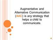 AAC Powerpoint 1