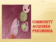 Community Acquired Pneumonia Alsalama