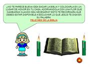 LECTIO DIVINA PARA NIOS PARA EL 2 DE SEPTIEMBRE DE 2012