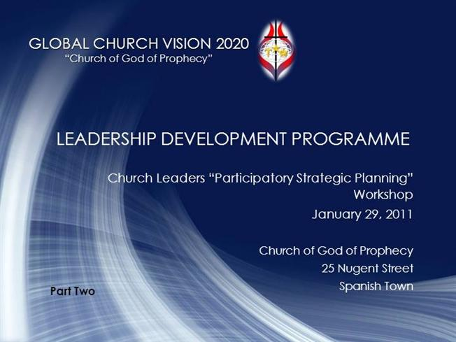 Church Leaders Workshop_ Part 2 |authorSTREAM