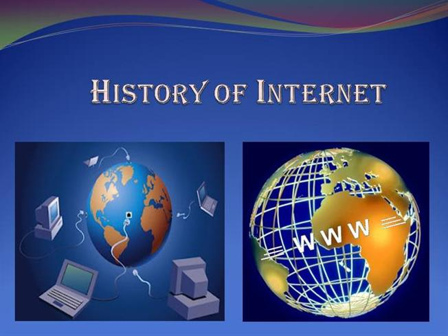 history of internet authorstream