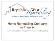 Republic West Remodeling: Home Remodeling Company in Phoenix