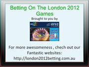 london olympic 2012 betting