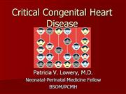 Critical Congenital Heart Disease