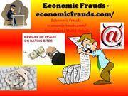 Warning- Economic Frauds- Complaint Details