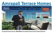 amrapali terrace homes 8800496504 booknigs with great offers